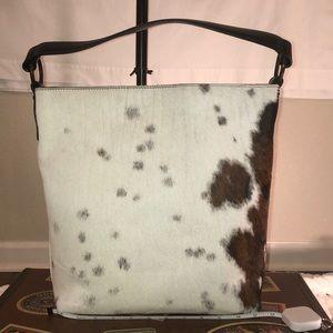Maurizio Taiuti genuine cowhide handbag